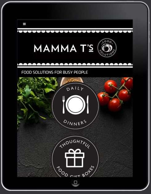 Mamma T's Food Solutions Website, Design And Wordpress Build By Birdhouse Digital